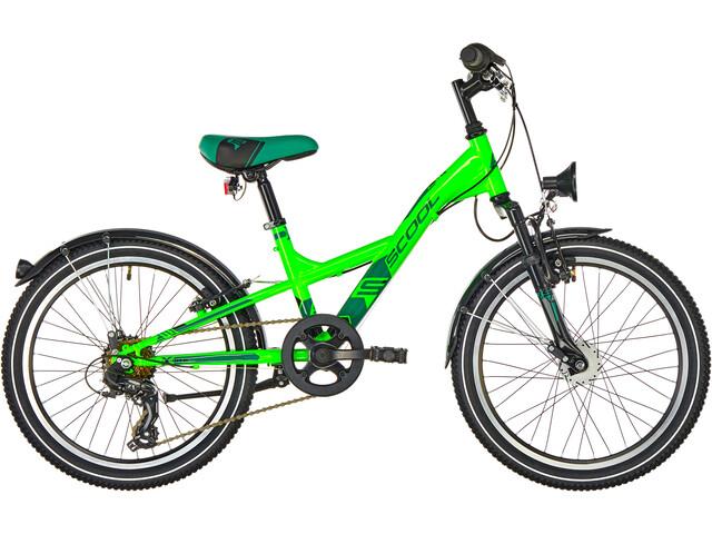 s'cool XXlite 20 7-S Steel Børn, neon green